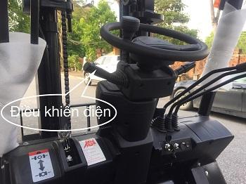lẫy điều khiển điện xe nâng